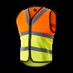 Kids Nightvision Safety Vest HI VIZ YELLOW thumbnail