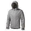 Nightvision Typhoon Waterproof Jacket Silver Grey thumbnail