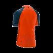 Firestorm Short Sleeve Jersey Spice Orange/Teal thumbnail