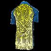 Kids Icon Short Sleeve Jersey - Tokyo Hi Viz Yellow/Blue thumbnail