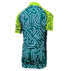 Kids Icon Short Sleeve Jersey - Tokyo Teal/Lime thumbnail