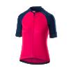 Women's Firestorm Short Sleeve Jersey Hi-Viz Pink/Blue thumbnail