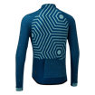 Icon Long Sleeve Jersey - Hex-Repeat Teal/Blue thumbnail