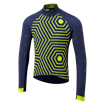 Icon Long Sleeve Jersey - Hex-Repeat Yellow/Navy thumbnail