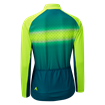 Women's Airstream Long Sleeve Jersey Yellow/Teal thumbnail