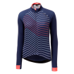 Womens Icon Long Sleeve Jersey - Mountain Navy Mix thumbnail