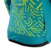 Womens Icon Long Sleeve Jersey - Tokyo Teal/Lime thumbnail